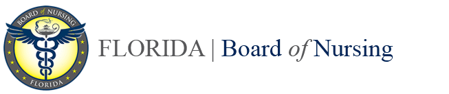 CNA Florida Board of Nursing Web Logo